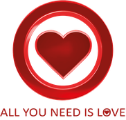 all you need is love logo
